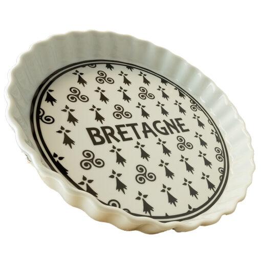 Plat à tarte méli mélo Bretagne