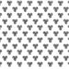 Tissu blanc triskell